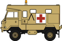 Land Rover 101 Forward Control Ambulance, Operation Granby, Gulf War