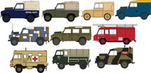 Land Rover Set 10-Piece Military