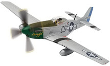 P-51D, Captain Ray Wetmore Daddy`s Girl, 370 FS, March 1945
