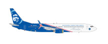 "Alaska B737-900ER ""Honoring Those Who Serve"" N265AK Gemini Diecast Display Model"