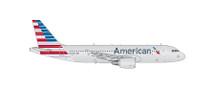 American A320-200 N117UW Gemini Diecast Display Model