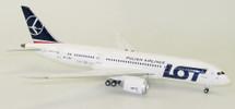 LOT Boeing 787-8 Dreamliner SP-LRD With Stand LTD 100 MODELS