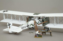 Gotha 602 White Snake Pattern Scheme Bomber Display Model