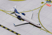 United Express CRJ-200 (Gray Livery) N417AW Gemini Diecast Display Model