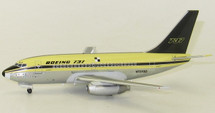 Boeing 737-100 N73700 Polished With Gold Stand