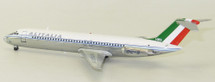 Alitalia DC-9- 32 I-DIKA Polished With Stand