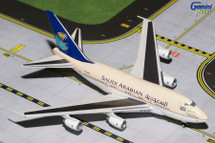 Saudia 747SP, HZ-HM1B Gemini Diecast Display Model