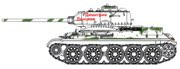 T-34/85, 38th Independent Tank Regiment 1945