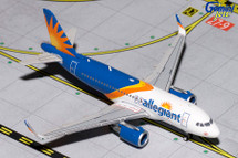 Allegiant A319(S) (New Livery, Sharklets) Gemini Diecast Display Model