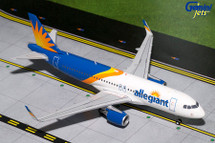 Allegiant A320-200(S) (New Livery, Sharklets) Gemini Diecast Display Model