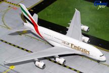 Emirates A380-800 A6-EUF Gemini Diecast Display Model
