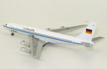 Germany Air Force Boeing 707-300 1002 with stand