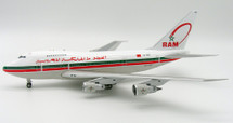 Royal Air Maroc (RAM) Boeing 747SP CN-RMS with stand