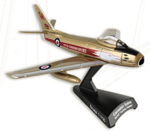 "Canadair Sabre ""Golden Hawks"" RCAF w/ Stand"
