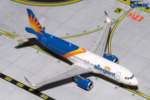 Allegiant A320-200(S) New Livery, Sharklets Gemini Diecast Display Model