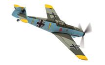 Bf 109E-4 Yellow 1 Oblt. Gerhard Schopfel, Staffelkapitan 9/JG26,  Cafers, France, August 1940