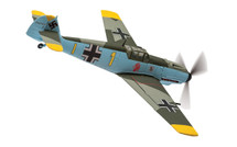 Bf 109E-4 Yellow 1 Oblt. Gerhard Schopfel, Staffelkapitan 9/JG26, Cafers, France, August 1940