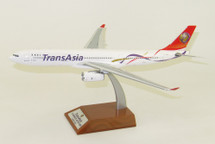 TransAsia Airways Airbus A330-300 B-22101 With Stand