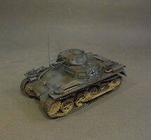 Panzerkampfwagen I Ausf. A, WWII Germany, 2 pieces