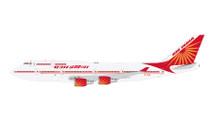 Air India B747-400 VT-EVA Gemini Diecast Display Model