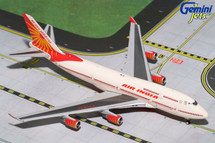 Air India B747-400 VT-EVA Gemini Diecast Display Model