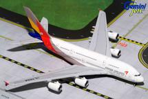 Asiana A380-800 HL7634 Gemini Diecast Display Model