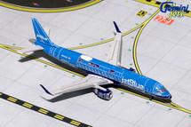 JetBlue ERJ-190 New Blue Print Livery N304JB Gemini Diecast Display Model