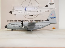 US Air Force Lockheed Martin WC-130J 98-5307 With Stand