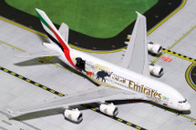 Emirates A380-800 Wildlife #2, New Logo A6-EER Gemini Diecast Display Model
