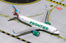 Frontier A320neo N307FR Champ the Bronco Gemini Diecast Display Model