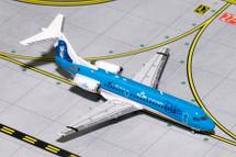 KLM Fokker 70 (Farewell Livery) PH-KZU Gemini Diecast Display Model
