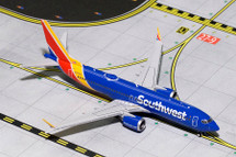 Southwest B737 MAX8 N8705Q Gemini Diecast Display Model