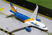 Allegiant A319 (New Livery, Sharklets) Gemini Diecast Display Model