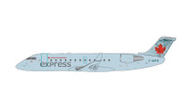 Air Canada CRJ-200 (Light Blue Livery) C-GKFR Gemini Diecast Display Model