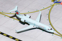 Air Canada CRJ-200 (Light Blue Livery) C-GKFR Gemini Diecast Display Model