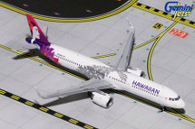 Hawaiian Airlines A321neo, N202HA Gemini Diecast Display Model