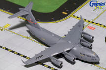 C-17A Globemaster III USAF 167th AW WV ANG, #01-0196 Spirit of Enduring Gemini Diecast Display Model