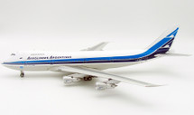 Aerolineas Argentinas Boeing 747-200 LV-OPA With Stand - Limited to 100 Models