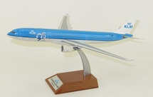 """KLM Airbus A330-300 PH-AKF """"95 Years"""" With Stand"""