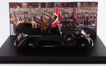 Mercedes-Benz 770K with Hitler Figure Nazi Party Rally Parade, Nuremberg, 1938