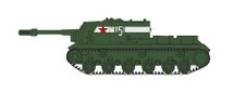ISU-152 Tank Destroyer Soviet Assault Gun Brigade, Berlin 1945