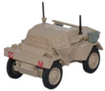 Dingo Scout Car 4th Armoured Brigade, 7th Armoured Div. Desert Rats, British Army, Libya, 1942