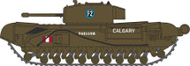 Churchill Mk.III Tank 1st Canadian Tank Brigade, Dieppe, 1942 Display Model