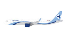 Interjet A321-200, XA-GEO Gemini Diecast Display Model