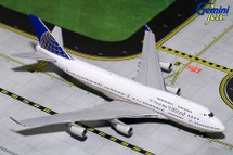 United Airlines 747-400, N121UA Gemini Diecast Display Model