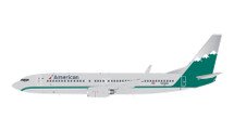 American Airlines B737-800(W) (Reno Air Retro Livery) N916NN Gemini Diecast Display Model