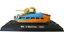 "Infantry Tank Mk.II ""Matilda"" 4th Armoured Brigade ""Black Rats,"" British Army, North Africa, 1941"