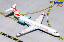 Austrian Airlines F-100 Goodbye Fokker OE-LVE Gemini Diecast Display Model
