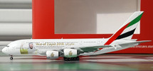 Emirates A380 Sheik Zayed A6-EUZ Gemini Diecast Display Model