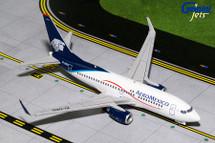 AeroMexico B737-700(W) EI-DRD Gemini Diecast Display Model